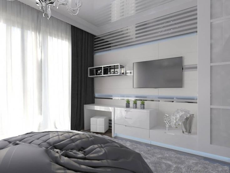 Dieses Schlafzimmer Verfügt über Einen Eingebauten Schreibtisch Sowie  Reichlich Speicher In Handarbeit In Eine Elegante,
