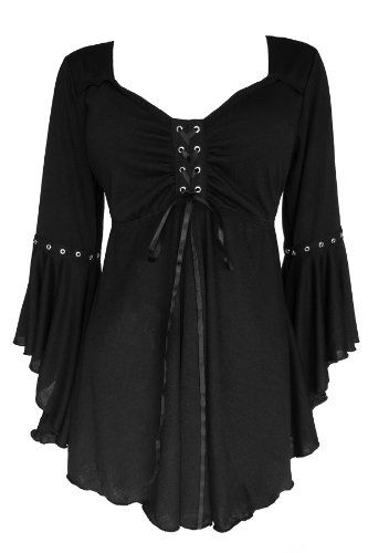 Amazon.com: Dare To Wear Victorian Gothic Women's Plus Size Ophelia Corset Top: Clothing
