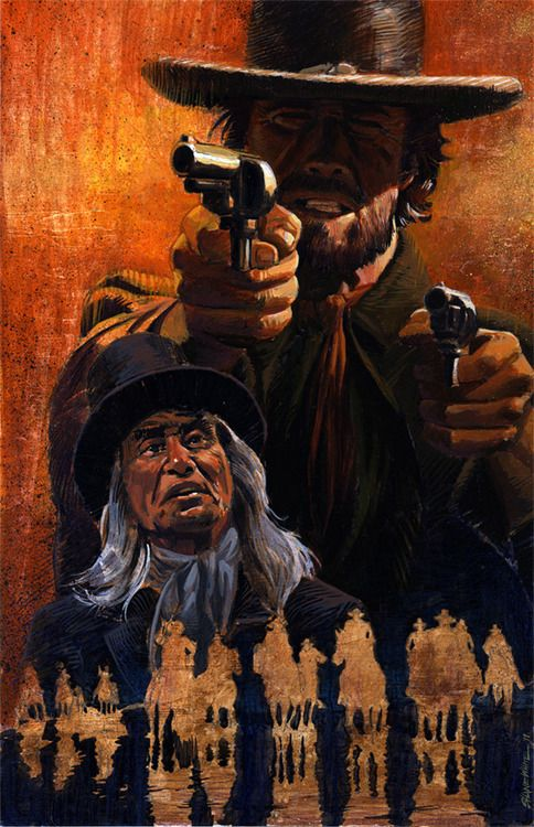 The Outlaw Josey Wales (1976)    Art by Shane White.
