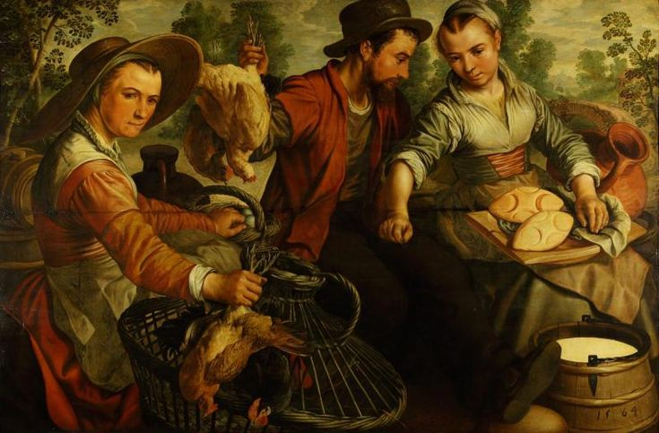 На рынке - Государственный музей изобразительных искусств им. А.С.Пушкина