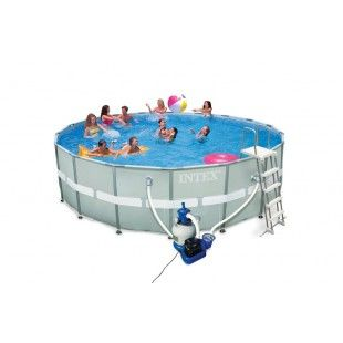 18 best images about piscines tubulaires on pinterest for Intex pool angebote