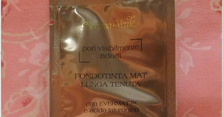 I Love Cosmetics Low Cost : Mini review fondotinta Bottega verde