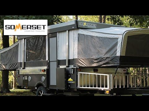 Have a look at one of the best pop up campers around. It's the NEW 2016 Somerset Evolution E3 Box produced by Aliner. Watch as Mount Comfort RV rep Steve Bel...