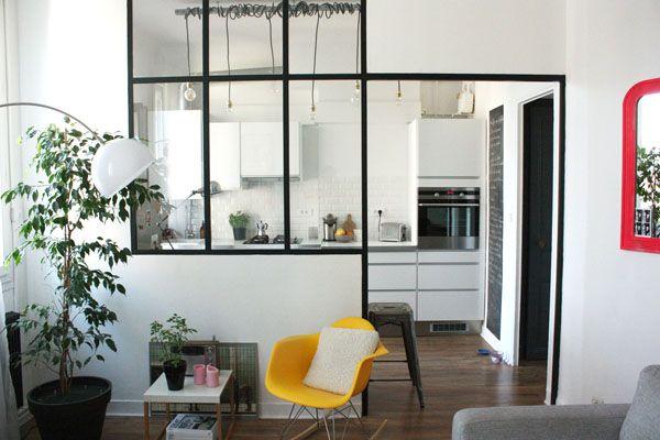 Avant/après : une cuisine refaite avec brio | Visite privée - Cotemaison.fr