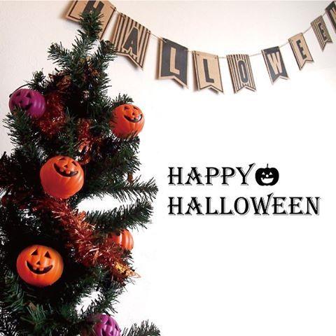 インテリアなら早めに飾ってもOK!ツリーに飾ればクリスマスにもツリーオーナメントを変えるだけで楽しめますよ!#daiso #daisojapan #ダイソー #ハロウィン #インテリア