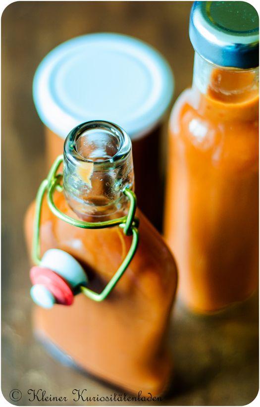 Rhabarber-Tomaten-Ketchup