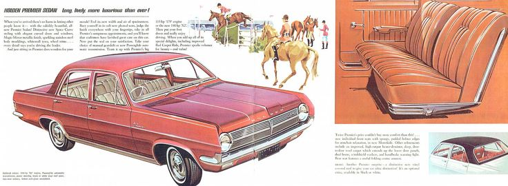 1965 Holden HD Prestige Brochure