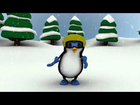 Cute & Crazy Penguin Dance Animation