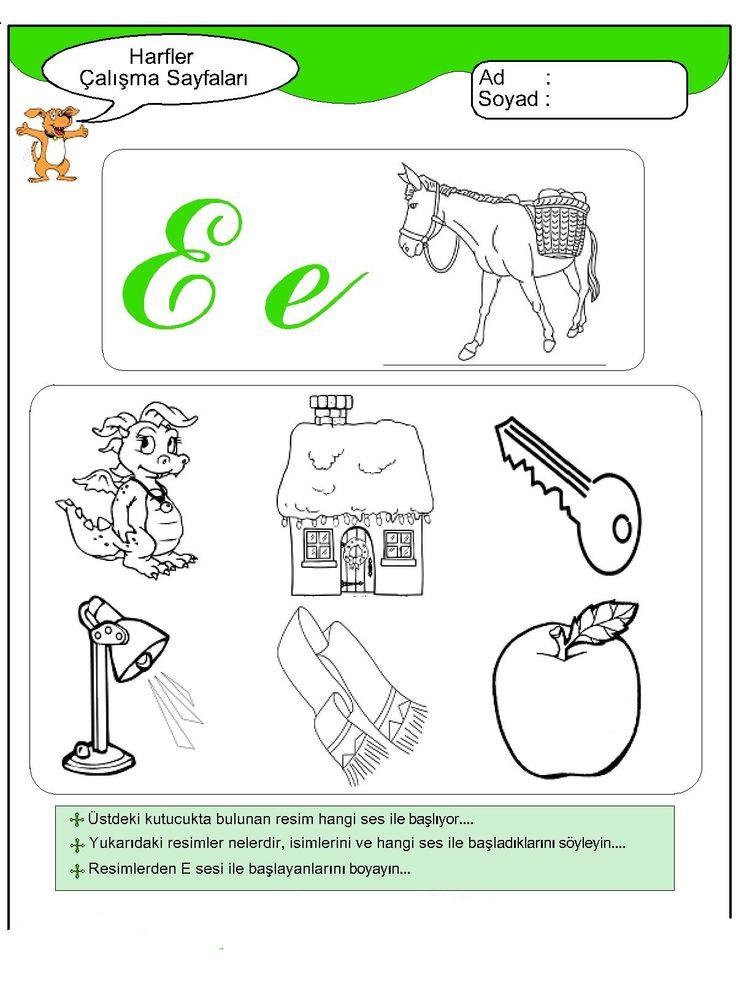 Tavuklar Okulöncesi Eğitim Boyama Sayfaları