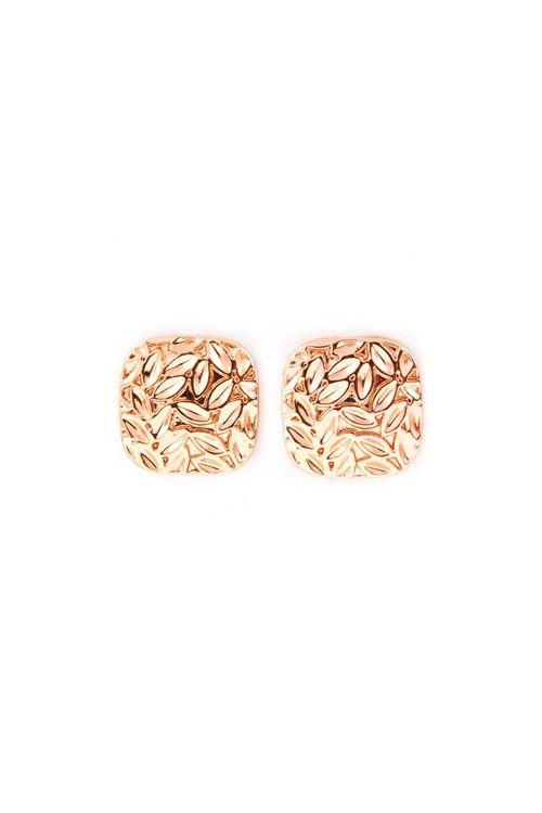 Juniper Earrings in Rose Gold