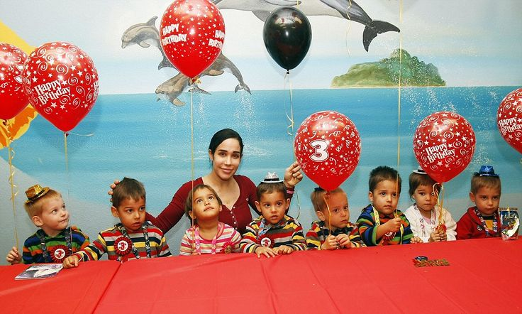 It's hard to believe, but Nadya Suleman's octuplets are already three years old.