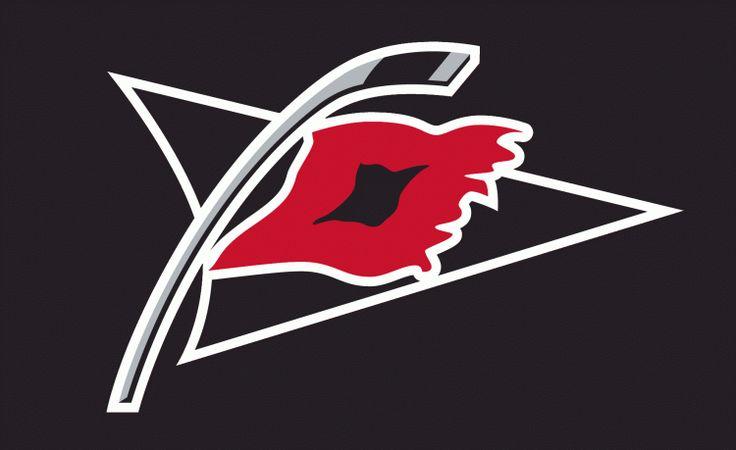 carolina hurricanes flag | Carolina Hurricanes Secondary Logo (2009) - Tropical storm warning ...