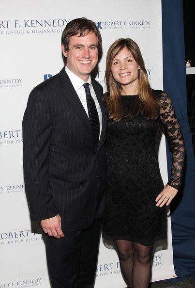 Matt Kennedy (Joe II's son, fraternal twin of Joe III) and his then fiancee, Katherine.