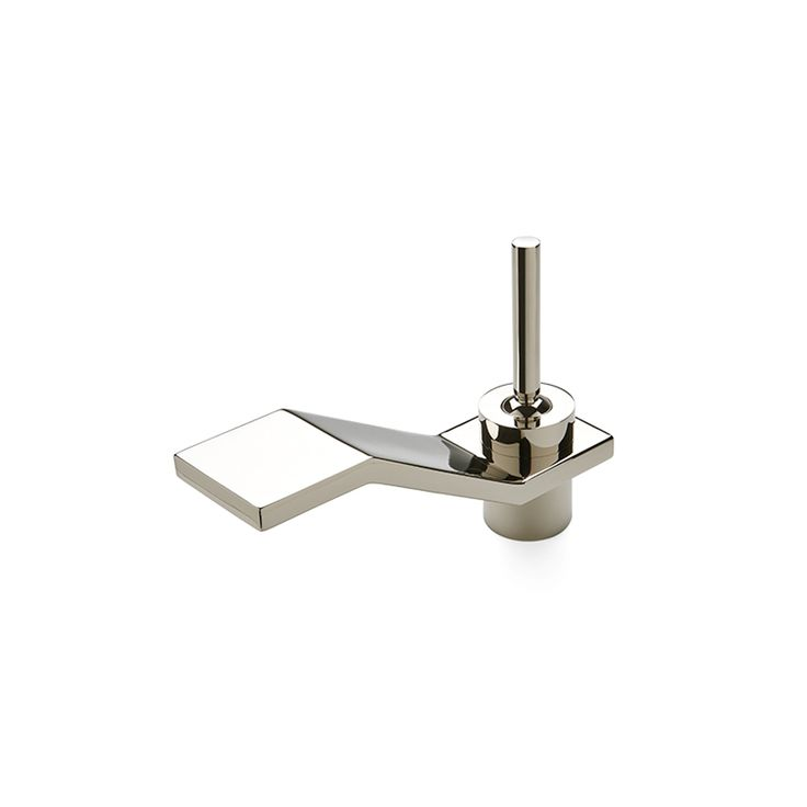 Formwork Low Profile One Hole Deck Mounted Lavatory Faucet With Metal  Joystick Handle