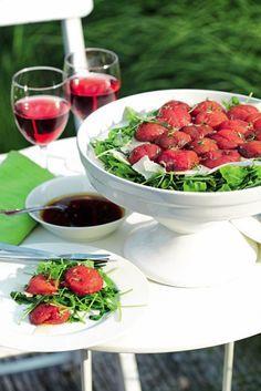 Tomatentaart met raketsla en parmezaan - Pascale Naessens - Puur Genieten 1