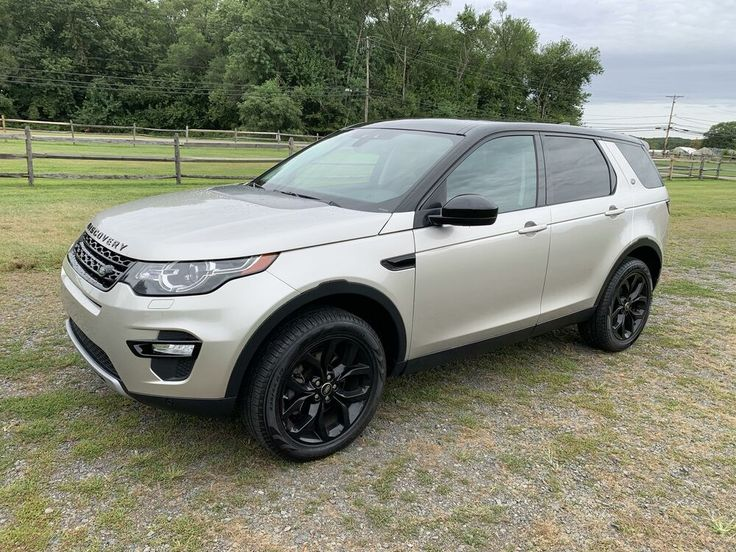 2017 Land Rover Discovery Sport HSE Luxury в 2020 г