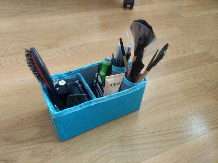 Caja para guardar maquillaje