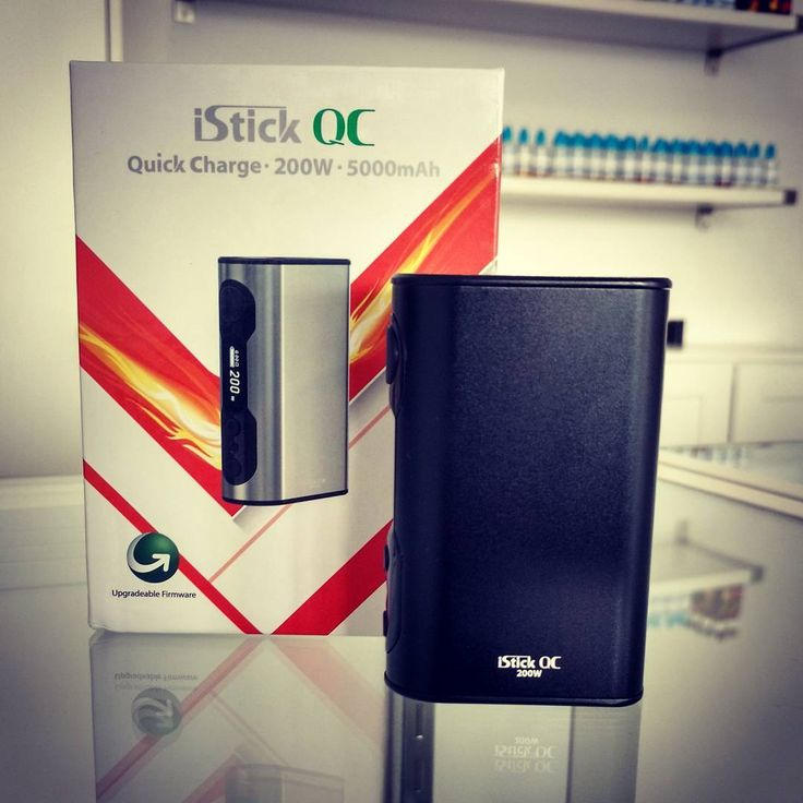The #Eleaf iStick QC 200w now in stock @vaporaecigs #aussievapers