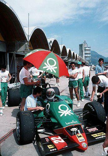 Jacarepagua 1985 | Ricardo Patresse. Alfa Romeo en la Fórmula 1