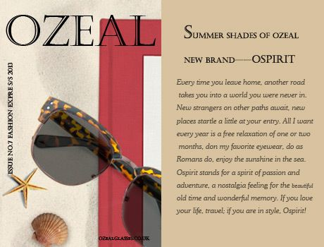 Ospirit, Designer Prescription Glasses from Ozeal Glasses