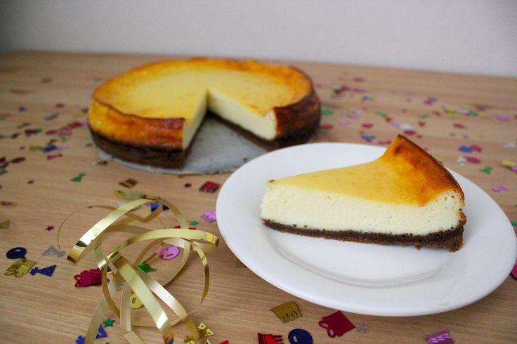 Witte chocolade cheesecake met bastogne bodem