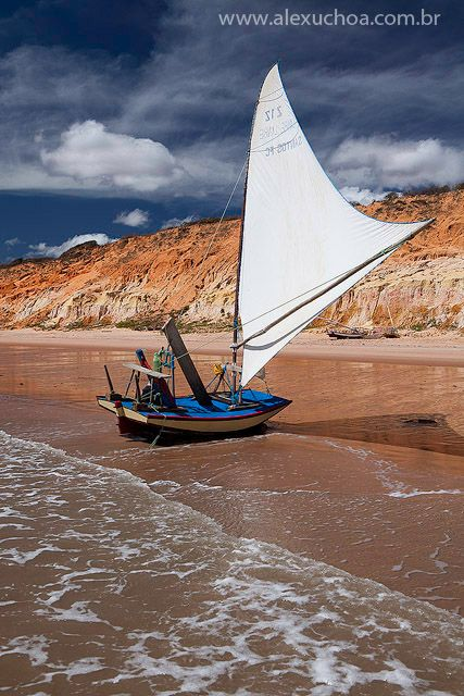 Praia do Retiro Grande, Icapui, Ceara - BRASIL