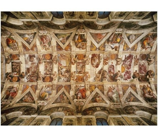 39225 Puzzle 1000 piese The Sistene Chapel Ceiling