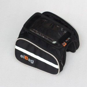 Jual tas top tube sepeda murah produk EIBAG Bandung 1505 series yang terdiri dari 3 pilhan warna, nama lain produk tas top tube ini adalah tas frame sepeda.