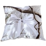 realtree snow camo wedding | Realtree Camo Ring Pillow