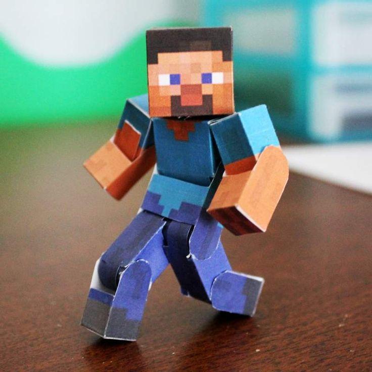 Pixel Papercraft Minecraft Templates
