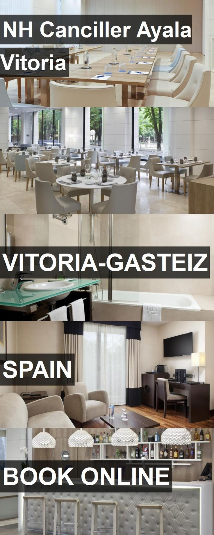 Hotel NH Canciller Ayala Vitoria in Vitoria-Gasteiz, Spain. For more information, photos, reviews and best prices please follow the link. #Spain #Vitoria-Gasteiz #NHCancillerAyalaVitoria #hotel #travel #vacation