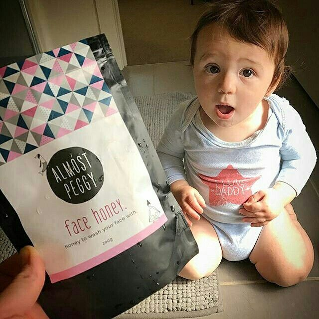"""""""Holy crap! Just tried out this awesome new face honey from @almostpeggy Get around it!"""" 😄😄😄😄😄😄😄😄😄😄 #facethehoney  -customer Abby McClure"""
