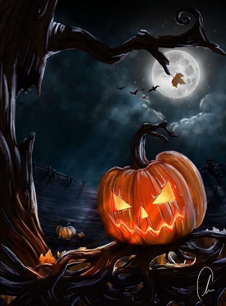 Happy Halloween by alexrcreamer.deviantart.com on @DeviantArt