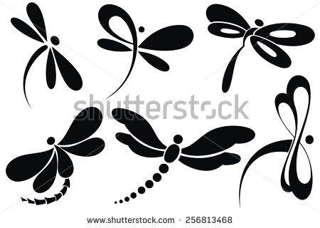 Dragonfly tattoo Photos et images de stock | Shutterstock
