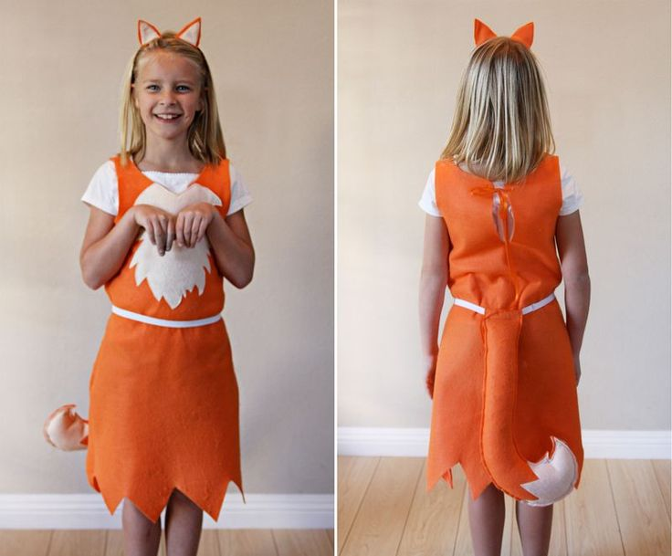 Fox costume and tutorial