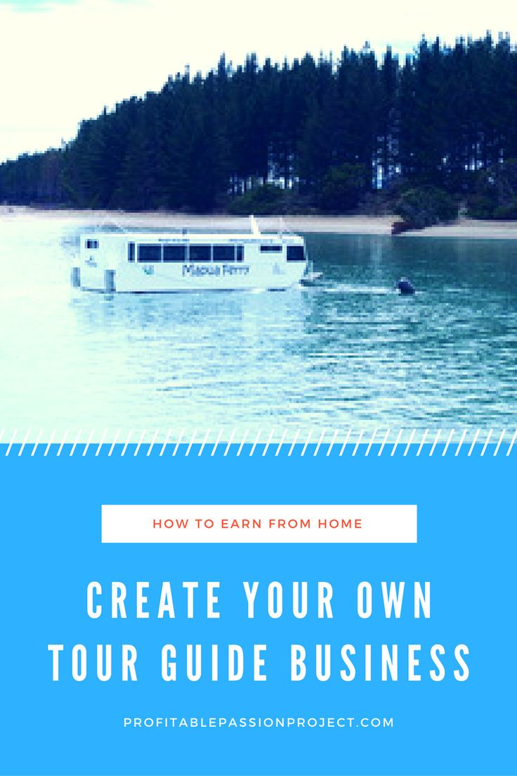 Earn income as a self employed tour guide using an already established worldwide platform. Click through to find out how you can start earning an extra income doing something you love.