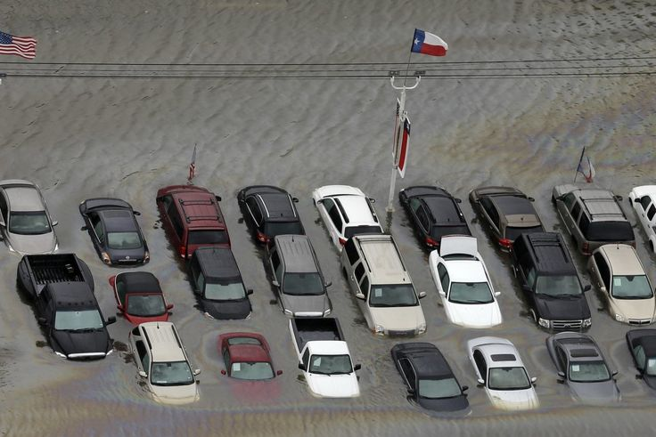 WSJ - Harvey's Destroyed Cars Give Auto Industry Hope