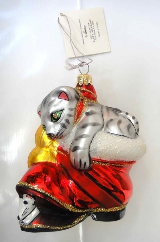 686 best Cat Christmas Ornaments images on Pinterest | Christmas ...