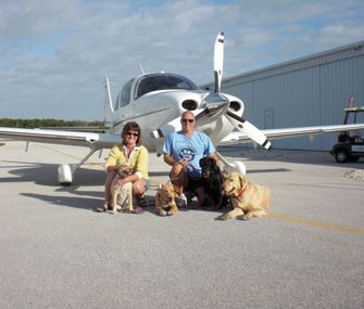 After five years of flying pets to adoptive families, Pilots N Paws volunteer Jeff Bennett celebrates his 2,000th rescue!