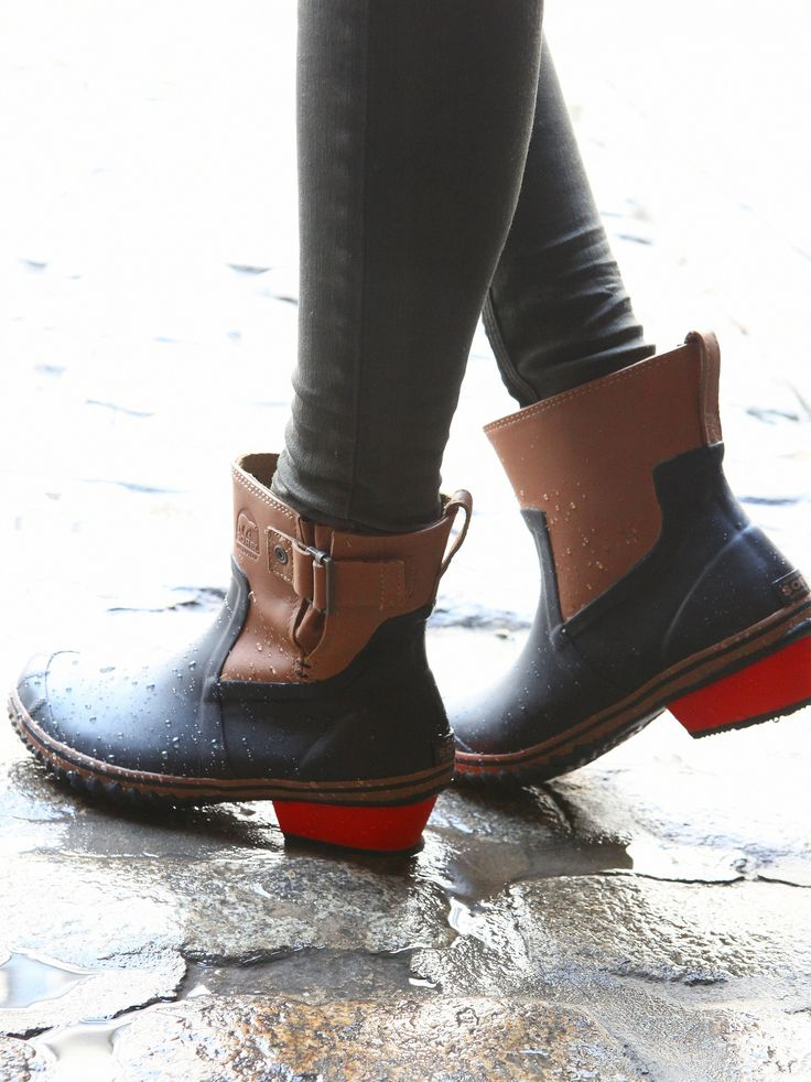 141 Best Rainboots Images On Pinterest  Rubber Work Boots -8091