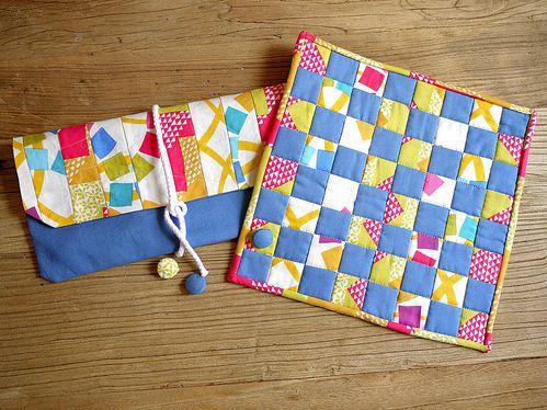 DIY Checkerboard Sewing & Quilting Tutorial