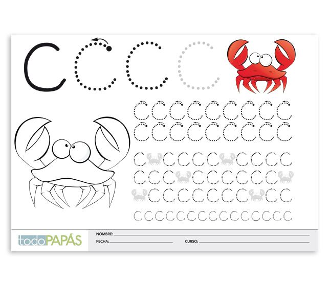 21 best trazo letras images on Pinterest | Caligrafia para niños ...