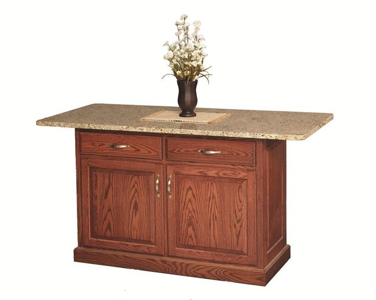 Amish Traditional Deluxe Kitchen Island Part 45