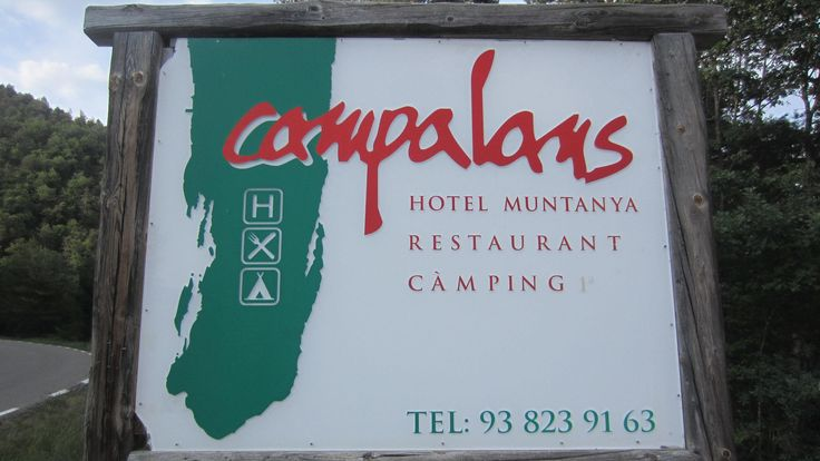 Camping y Hotel Rural Campalans en Borredà ( Berguedà ). #Camping familiar para disfrutar de la naturaleza haciendo #senderismo o en #btt