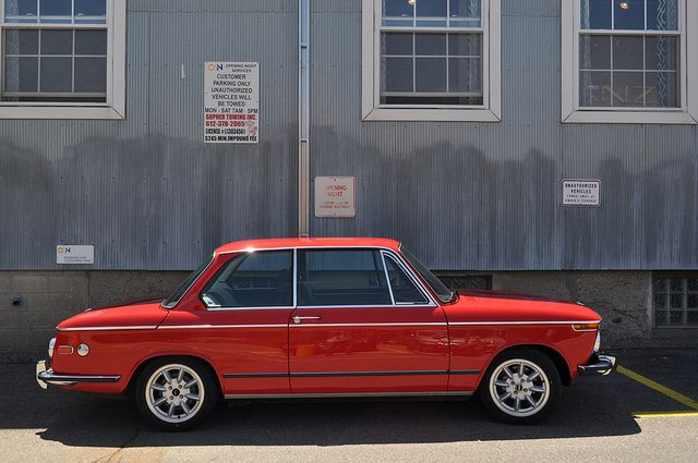 BMW 2002 tii   Gorgeous little car seen parked near Ducati M…   Flickr