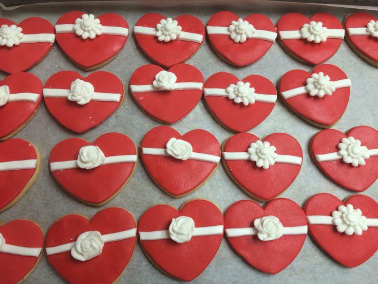 Hearts cookies!