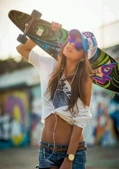 Skater# girl# <3