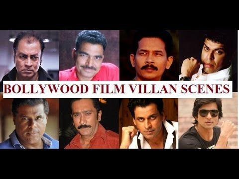 Best actor in negative role Bollywood films#बॉलीवुड के बेस्ट विलन सीन#