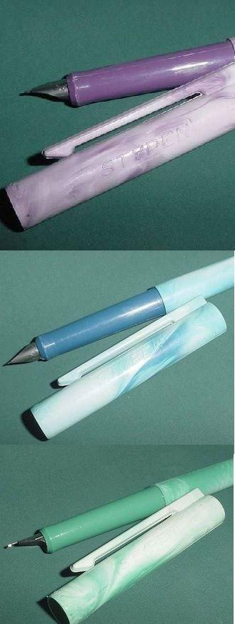 les Stylos plumes STYPEN, qui n'en a pas eu? Un incontournable de l'écolier (ère) des années 80...avec l'encre assortie à la couleur du stylo, bien sûr !
