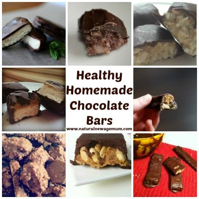 Healthy home-made chocolate bars! - Natural New Age Mum